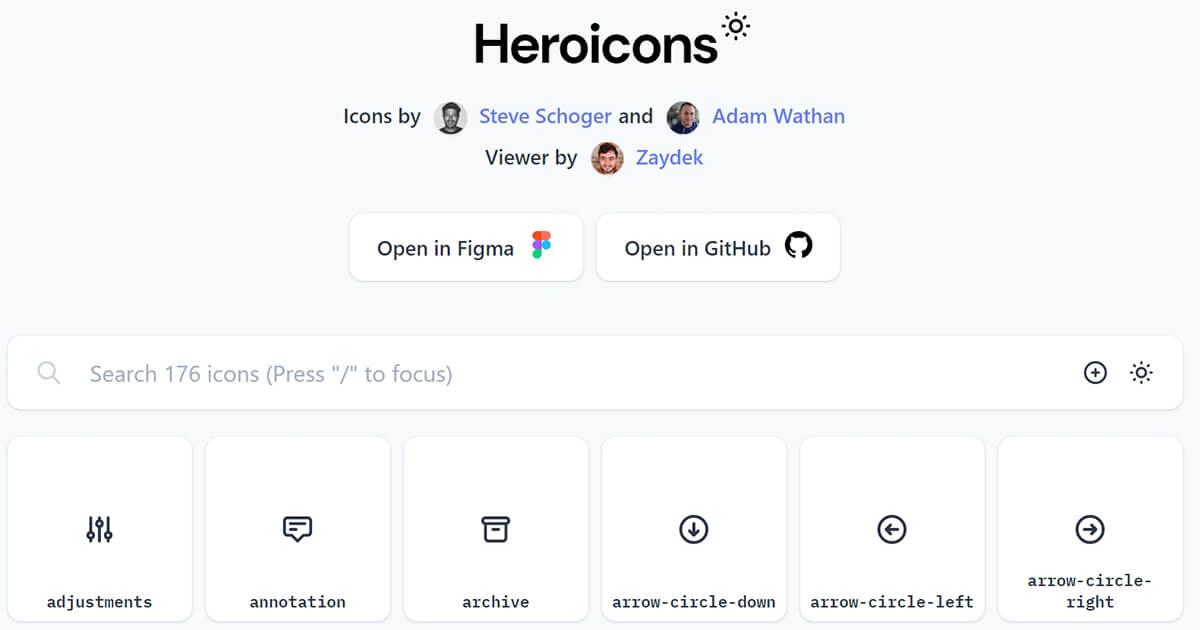 heroicons
