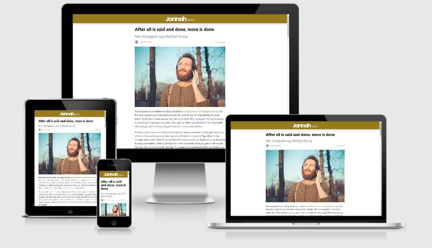 Jannah - Newspaper Magazine News BuddyPress AMP