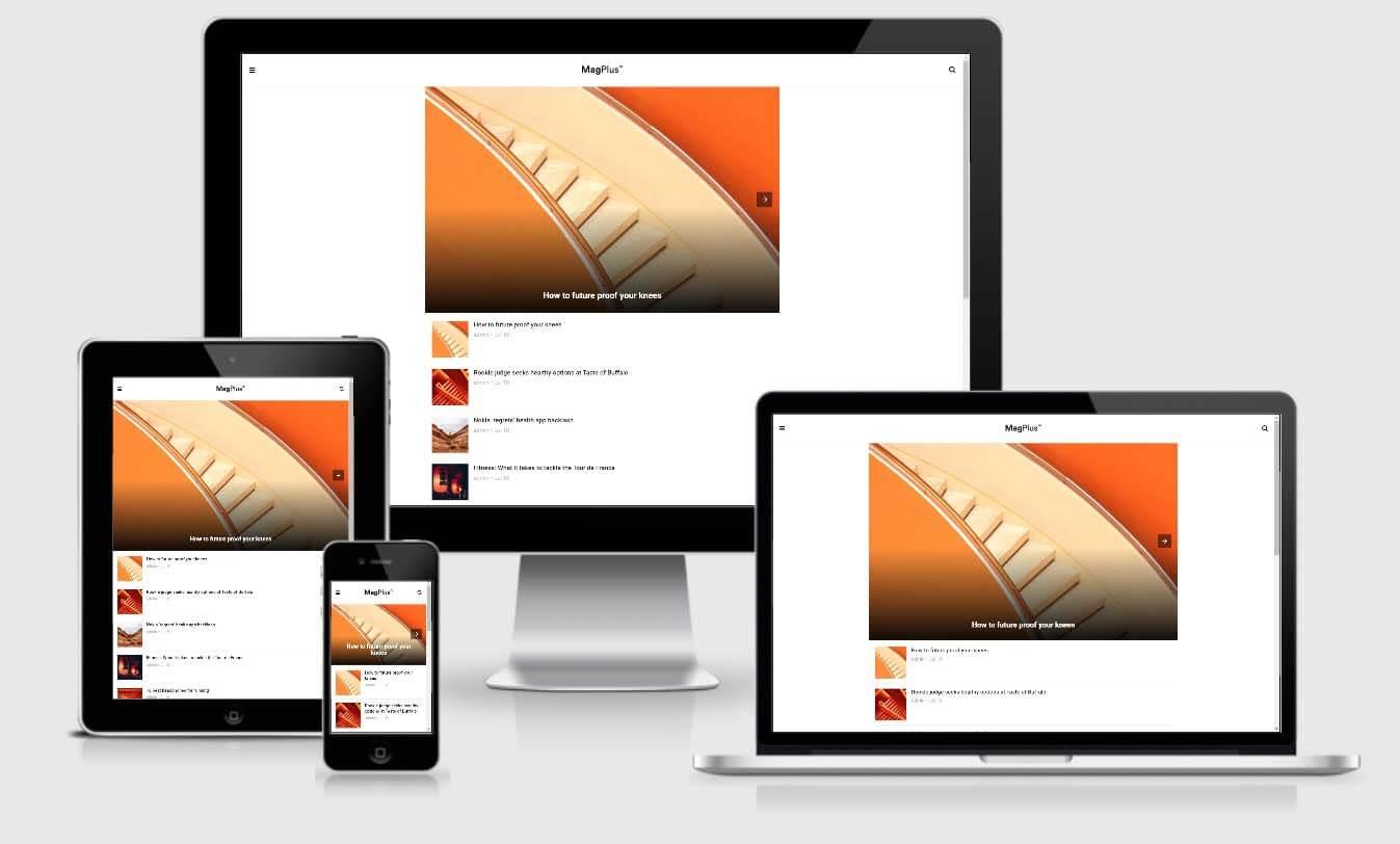 MagPlus - AMP Magazine Elementor WordPress Theme