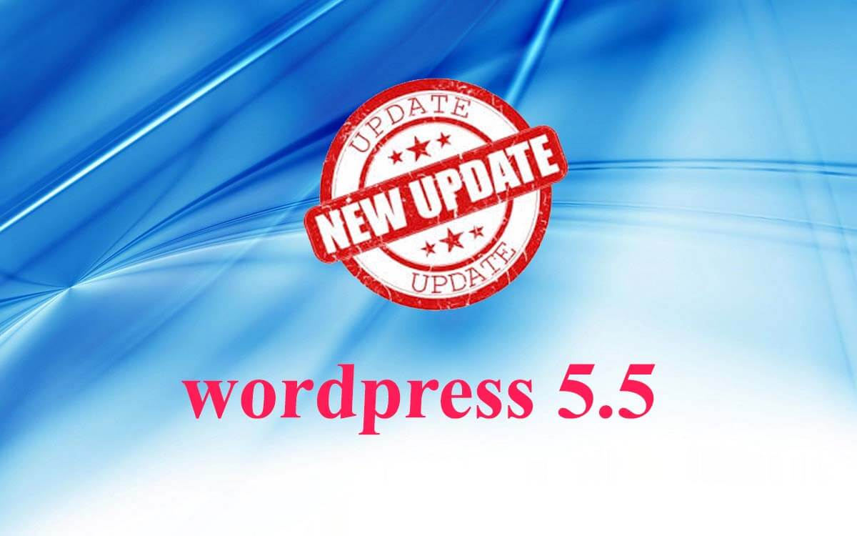update  WordPress 5.5