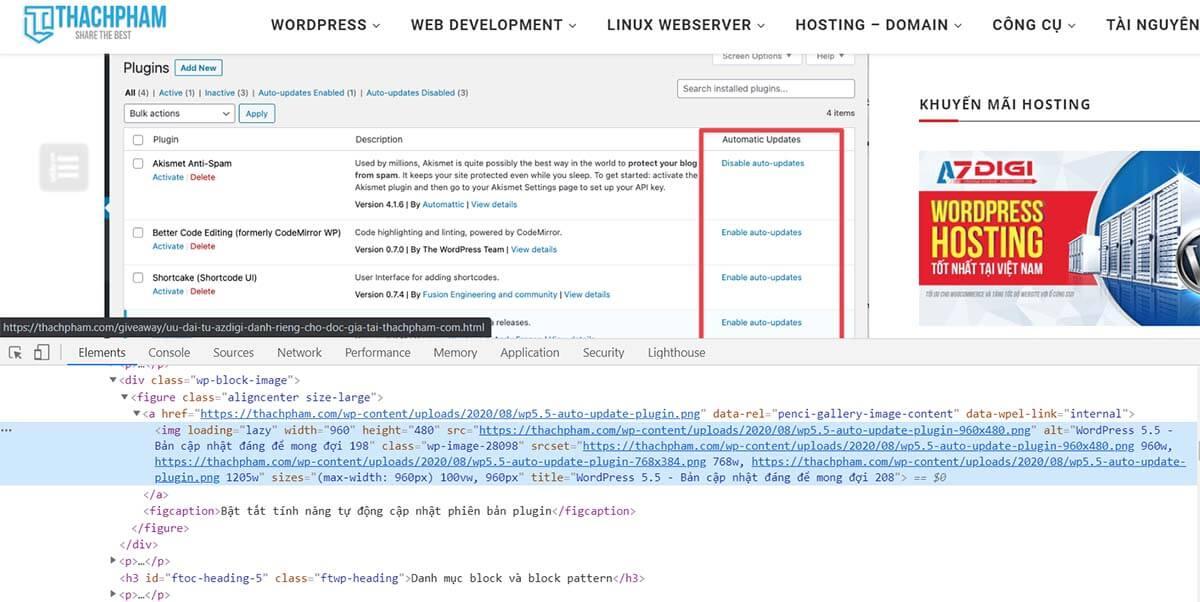 cú pháp HTML chèn ảnh của bog chuẩn