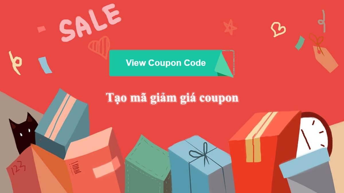 Tạo mã giảm giá với coupon plugin wordpress siêu đẹp