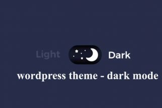 Danh sách 10+ wordpress theme dark mode