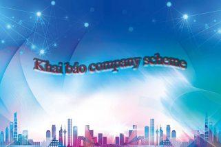 Khai báo company schema (cấu trúc dữ liệu công ty)