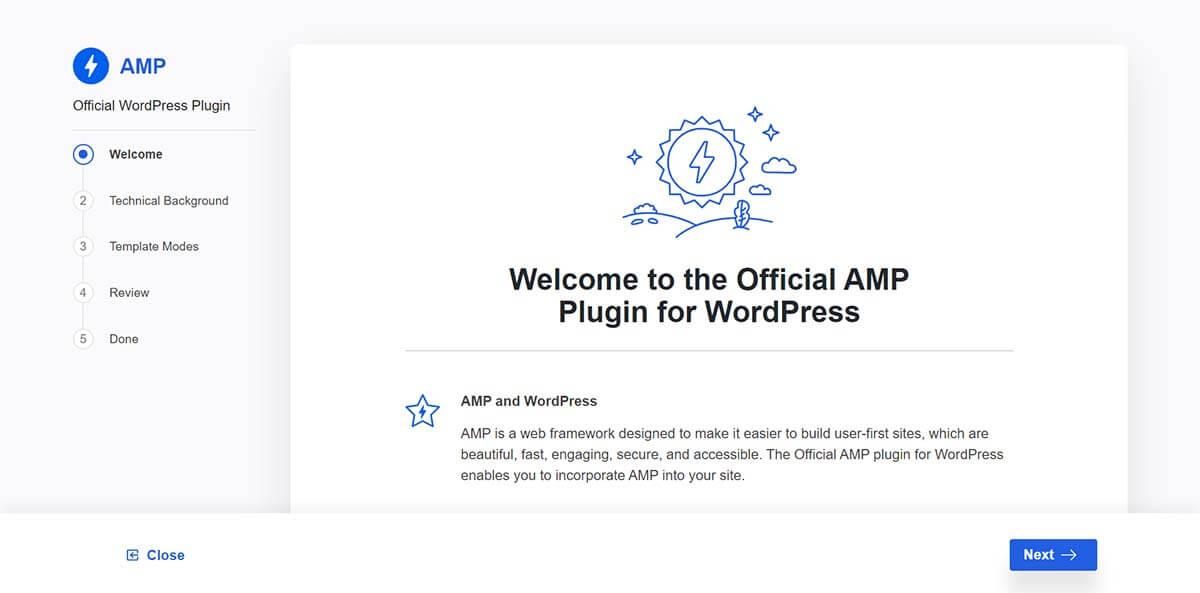 Hướng dẫn cài đặt chi tiết Official AMP Plugin for WordPress