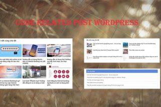 code related post wordpress