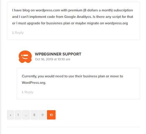 Phân trang đẹp cho nhận xét wordpress