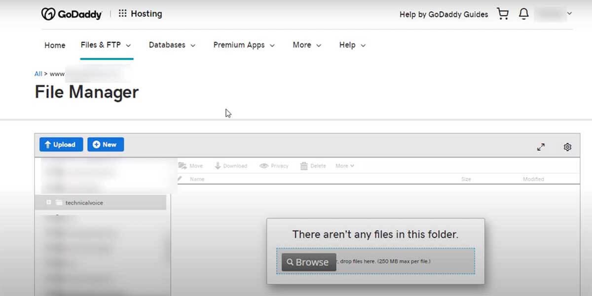 phần mềm quản lí hosting Godaddy