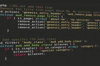 Cách sử dụng hàm điều kiện trong wordpress