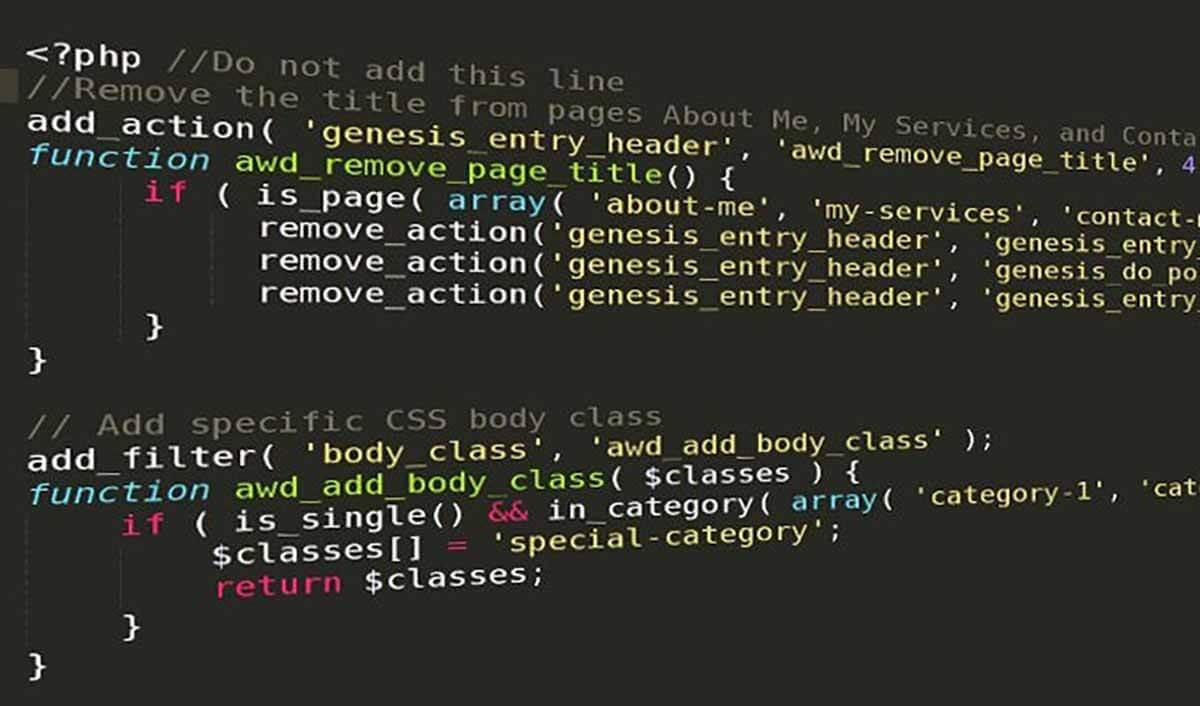 hàm điều kiện trong wordpress