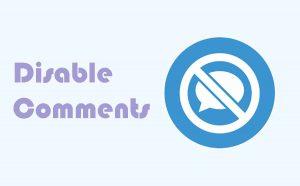 Cách tắt chức năng comment trong wordpress đầy đủ